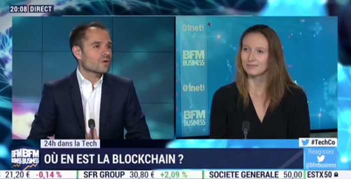 Blockchain Partner sur BFM Business